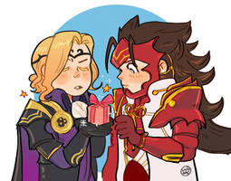 Ryoma and Xander from Fire Emblem