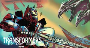 TF5 Optimus Prime Colored Practise
