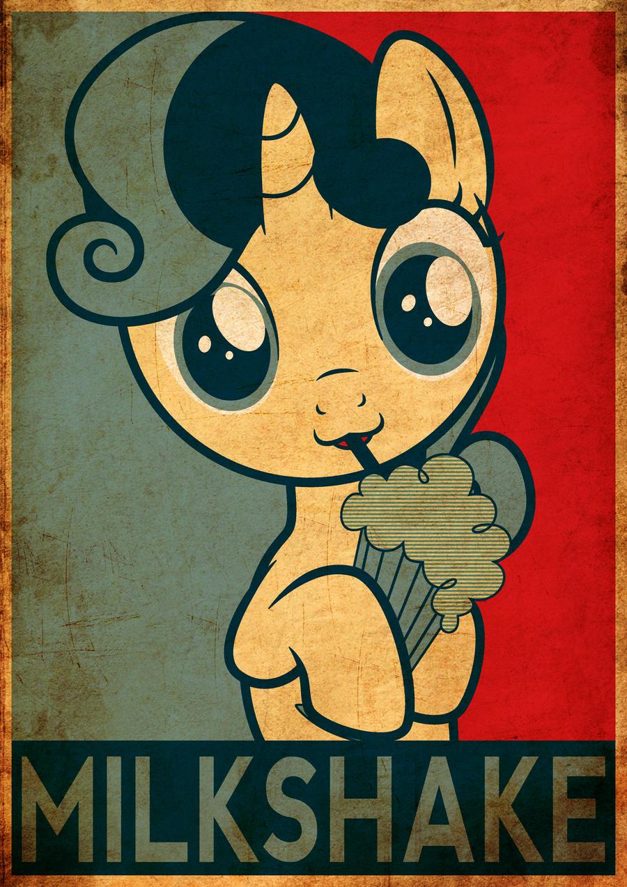Sweetie Belle - MILKSHAKE by Fr3zo
