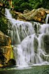 Waterfall in Lhoong, Aceh Besar.