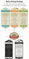 Retro Pricing Package Template