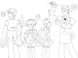 APH- Hetalia PET Cafe by Germany-x-Italy-Fans