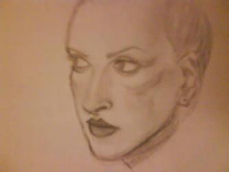 Uma Thurman sketch by StelmariaonE7