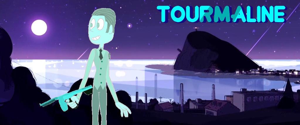 Blue Tourmaline (my Steven Universe OC) by jacamontronic