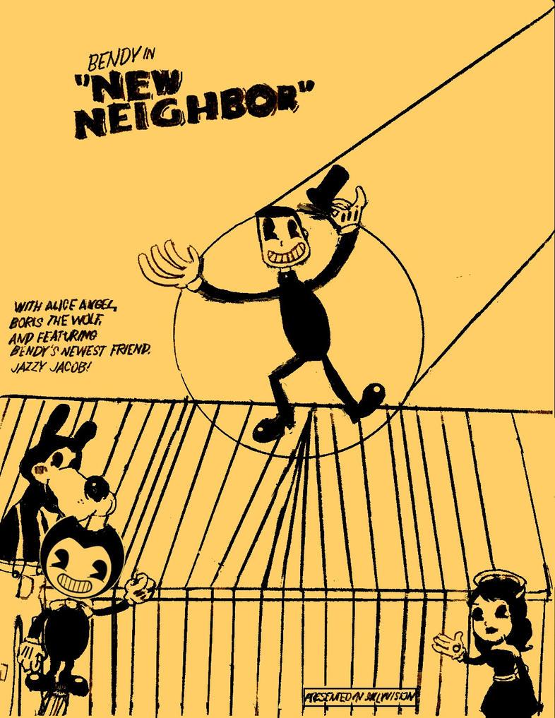 Bendy in New Neighbor (Edited) by jacamontronic