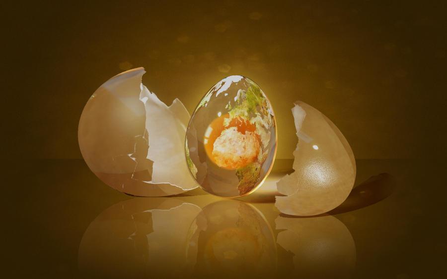 Egg World by BradleyBlazed