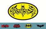 Batman Logos Wallpaper 4
