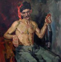 Kozak (study copy of an unknown artist) by ShastinaHell-N