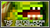 The Biting Pear of Salamanca - Stamp by MadKingFroggy