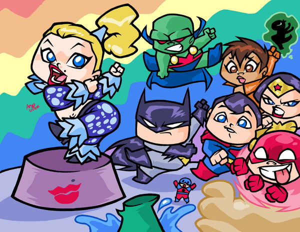 MADONNA vs JUSTICE LEAGUE by ASSESINA