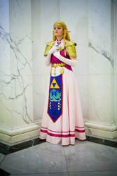 Princess Zelda - Ocarina of Time Cosplay