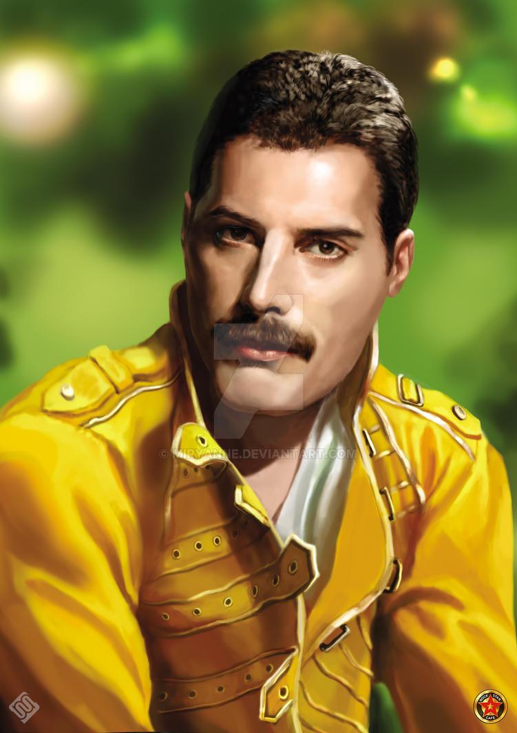 Freddie Mercury By Miryanne On Deviantart