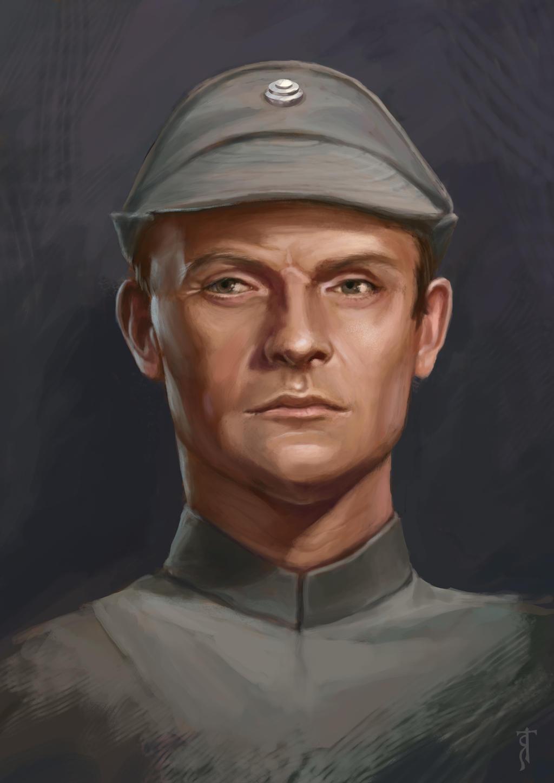 Star Wars Portrait Study, Maximilian Veers