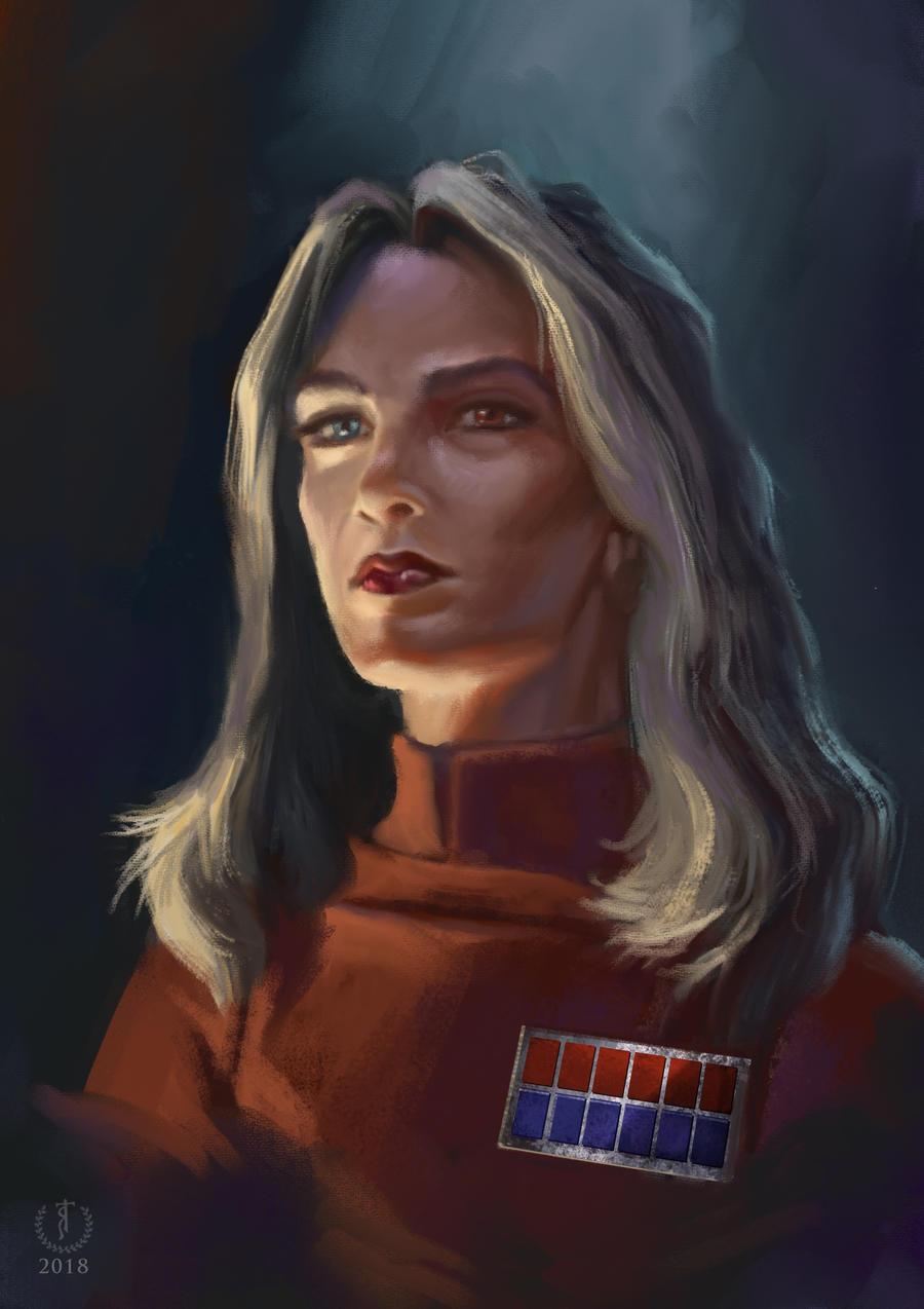 Ysanne Isard   Star Wars Portrait Study