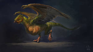Green Basilisk | The Witcher3 fanart