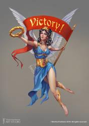 Nika, the Goddess of Victory