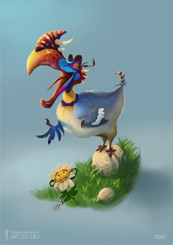 Jubjub bird singing :)