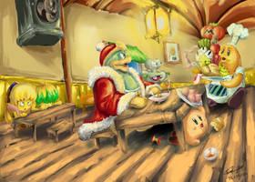 Kirby De Las Estrellas Fan Art 1