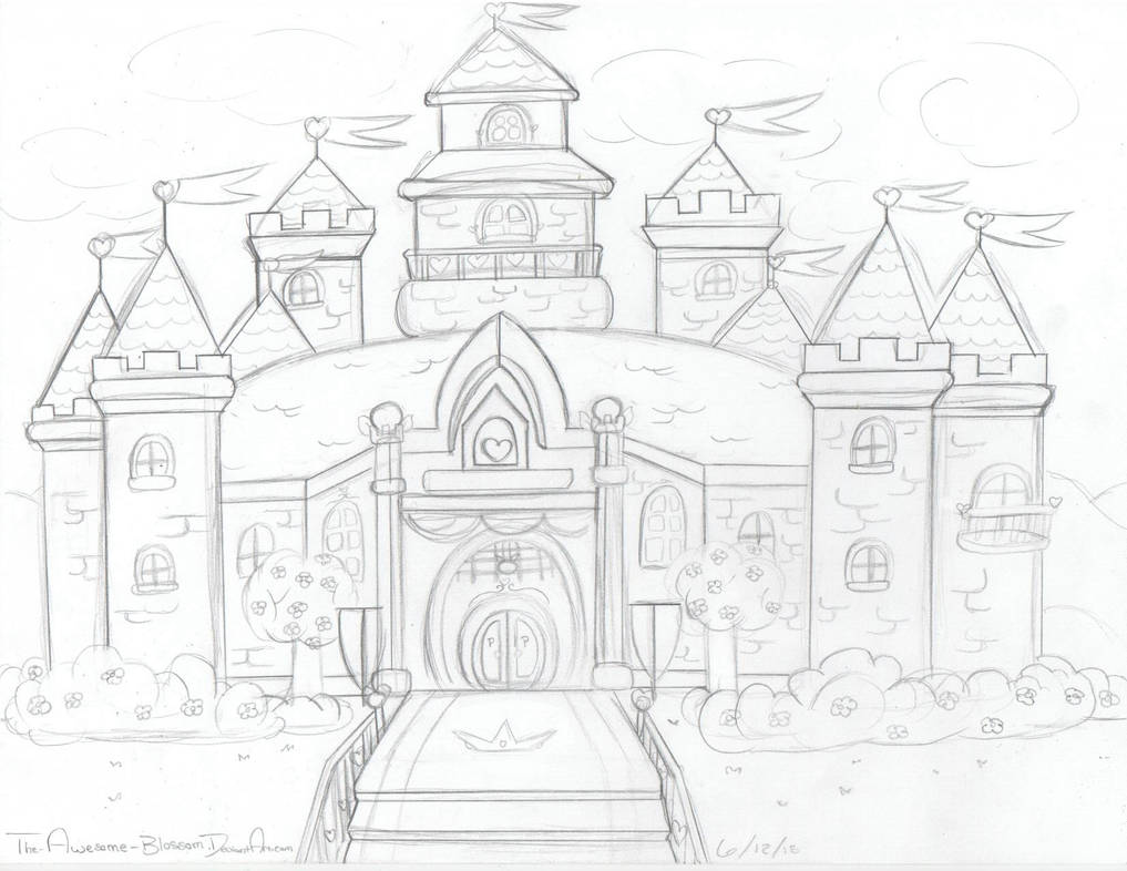 Peach S Castle Wip By Pinkhyruleprincess On Deviantart