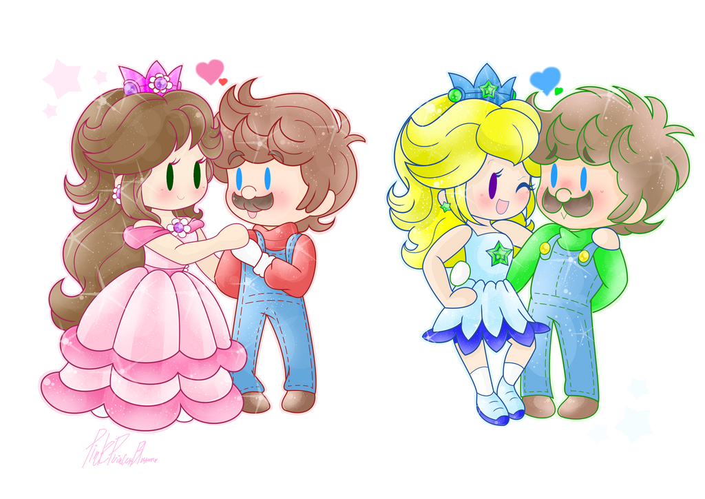 .:CM: GD x Mario + TP x Luigi:. by PinkPrincessBlossom