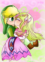 .: Collab: A Princess' Kiss :. by PinkPrincessBlossom