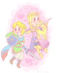 .: Kawaii Warriors of Hyrule :. by PinkHyrulePrincess