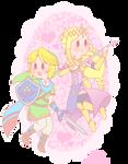 .: Kawaii Warriors of Hyrule :. by PinkHyrulePrincess
