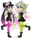 .: Stay Fresh~! (Callie and Marie) :.