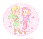 .: Smol OoT Babies :. by PinkHyrulePrincess