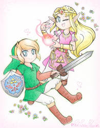 .: Lets Save Hyrule~! :. by PinkPrincessBlossom