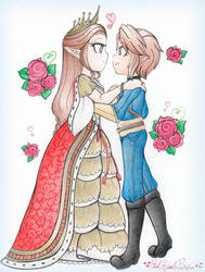 .: CM: Dancing With The Queen :. by PinkHyrulePrincess
