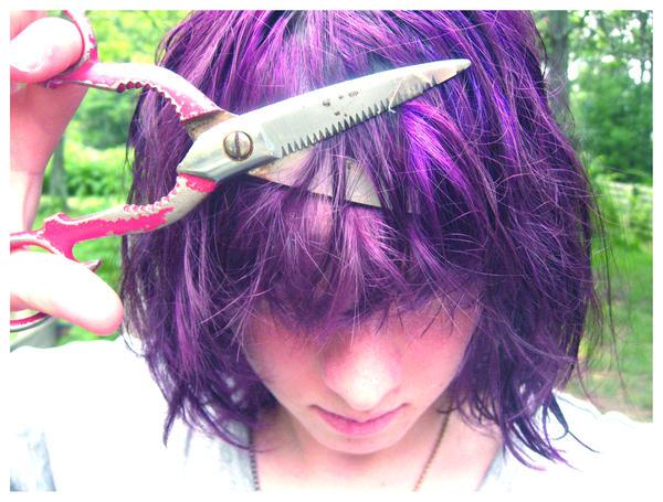 hair cut by Minga