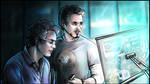 Tony Stark and Bruce Banner - Science Bros