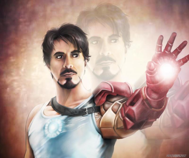 Tony Stark II by VoydKessler