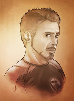 Tony  - Iron Man 3