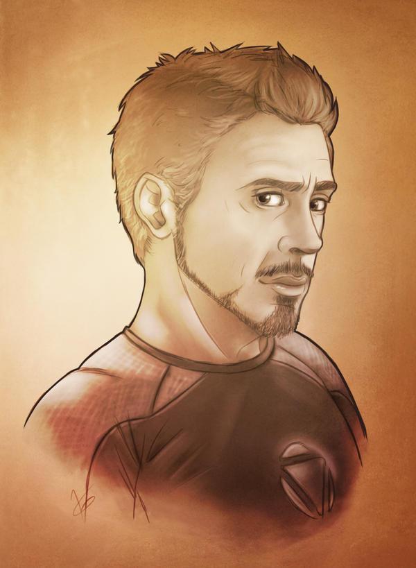 Tony  - Iron Man 3 by VoydKessler