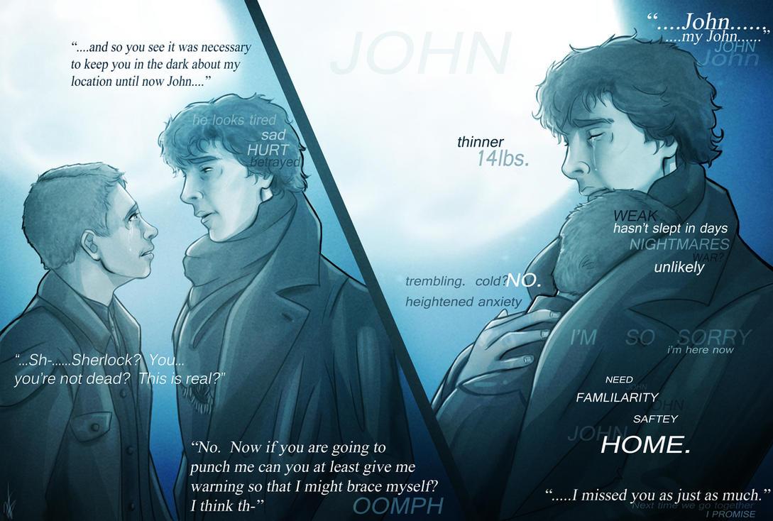 BBC Sherlock x Watson - Long Overdue Return by VoydKessler