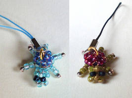 Beadie Turtle Charms by Astral-Dragon