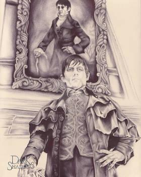 BallPoint Pen Barnabas Portrait