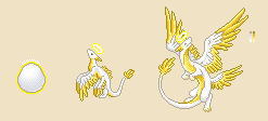Halo Dragon Sprite Tests by Astral-Dragon
