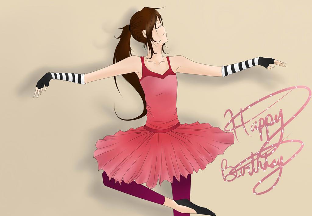 Happy Birthday Drawing-Fanatic! by NekoOtaku24