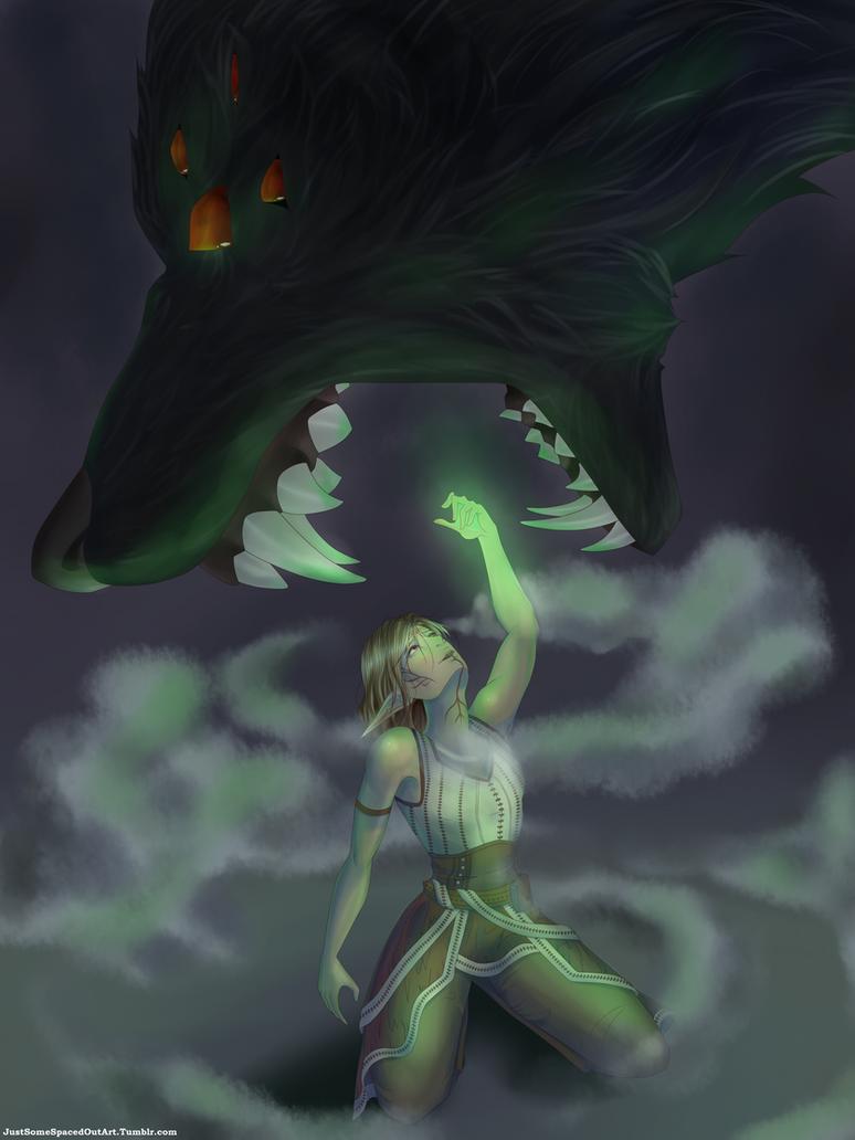 Dread Wolf Take Me by NekoOtaku24