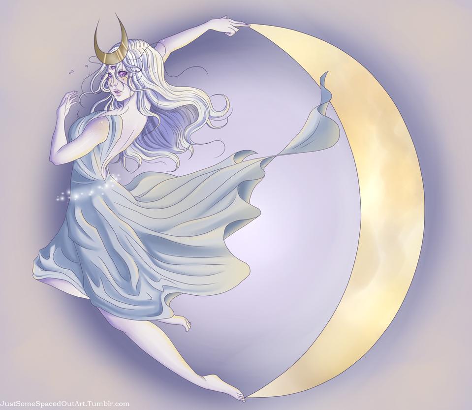 Moon Goddess by NekoOtaku24
