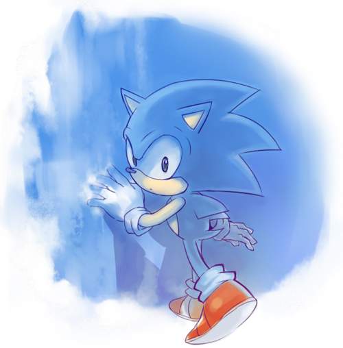 classic Sonic by sujinee