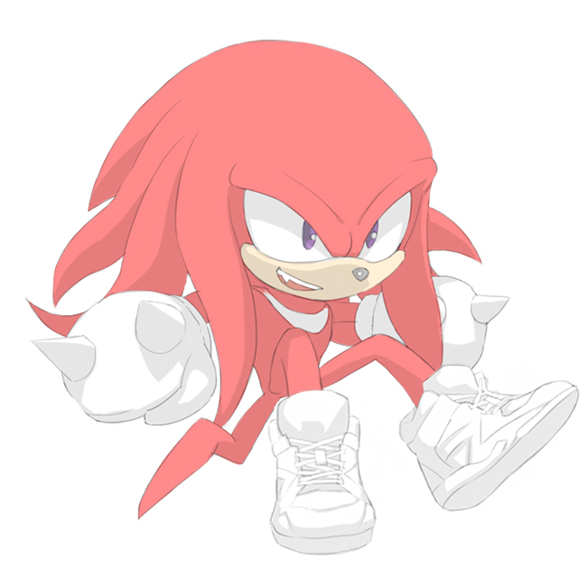Knuckles by sujinee