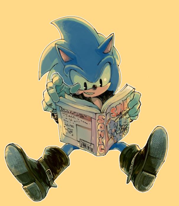 Evil Sonic by sujinee