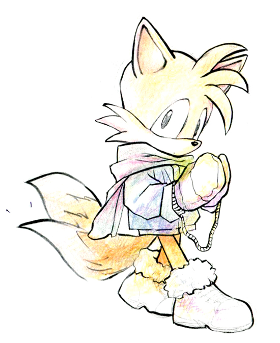 Tails by sujinee