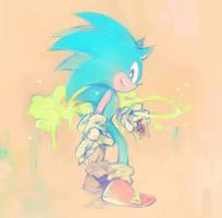 Sonic by sujinee