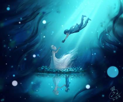 Final Fantasy XV - Luna and Noctis Farewell