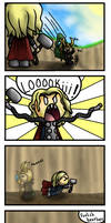 Silly Thor - Colored by Colorcomet